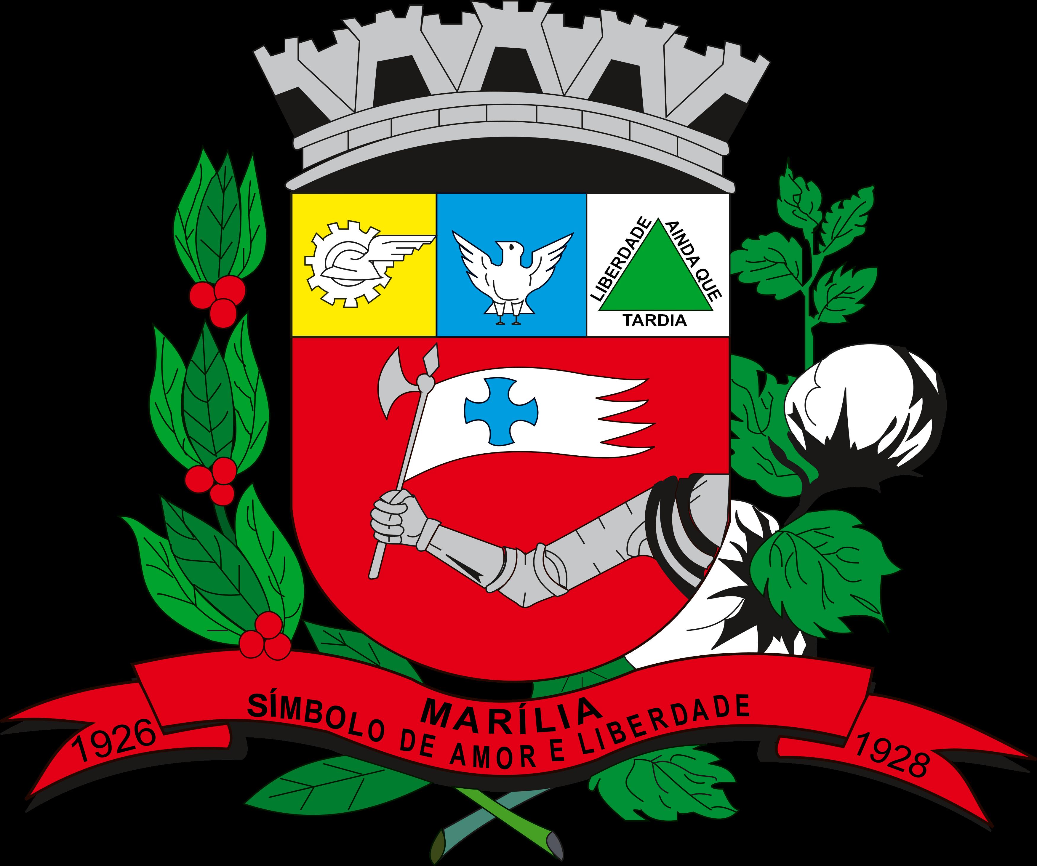 Brasão Marília SP.