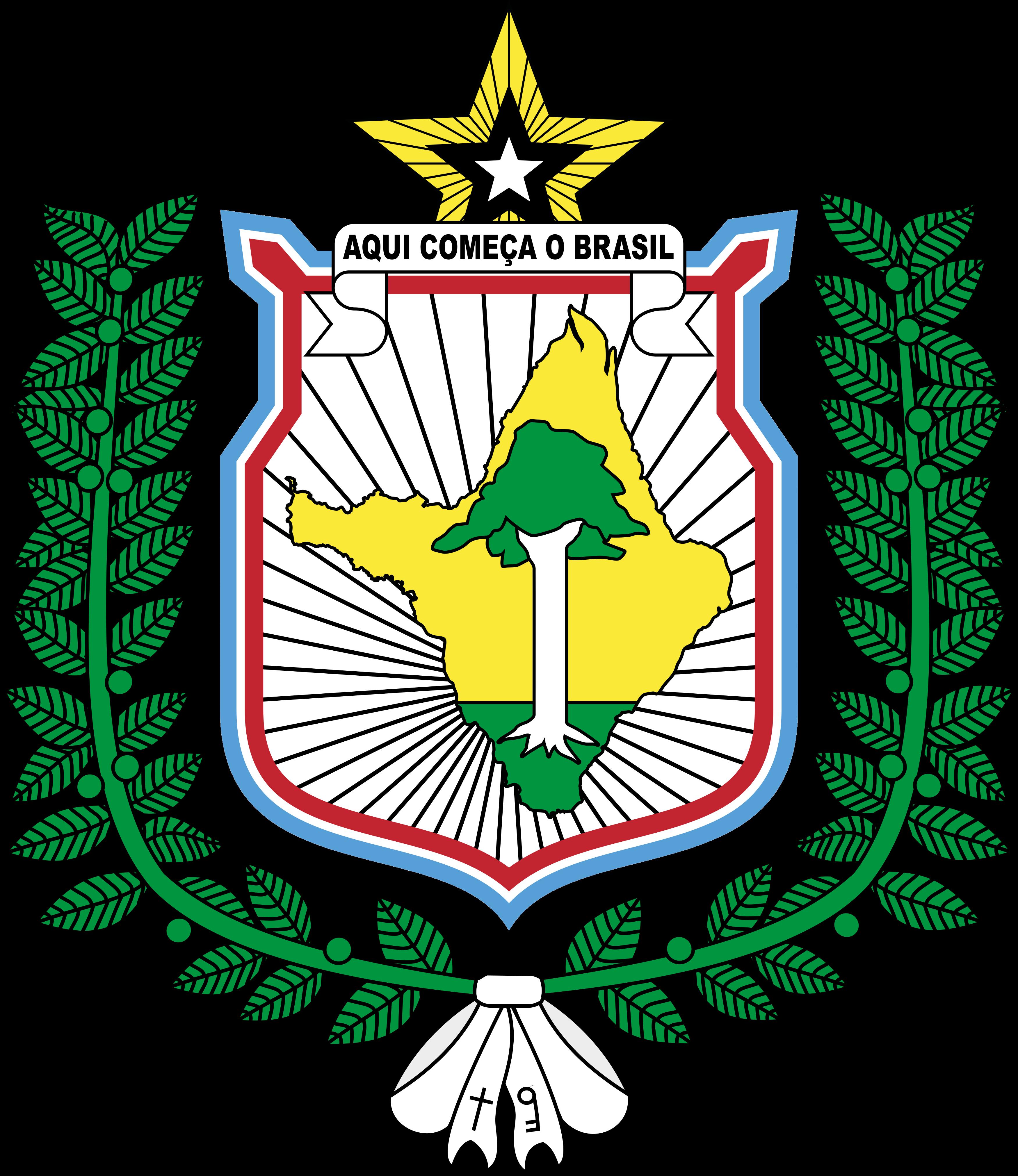 Brasão do Estado do Amapá.