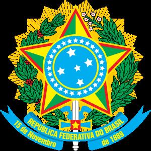Brasão do Brasil.