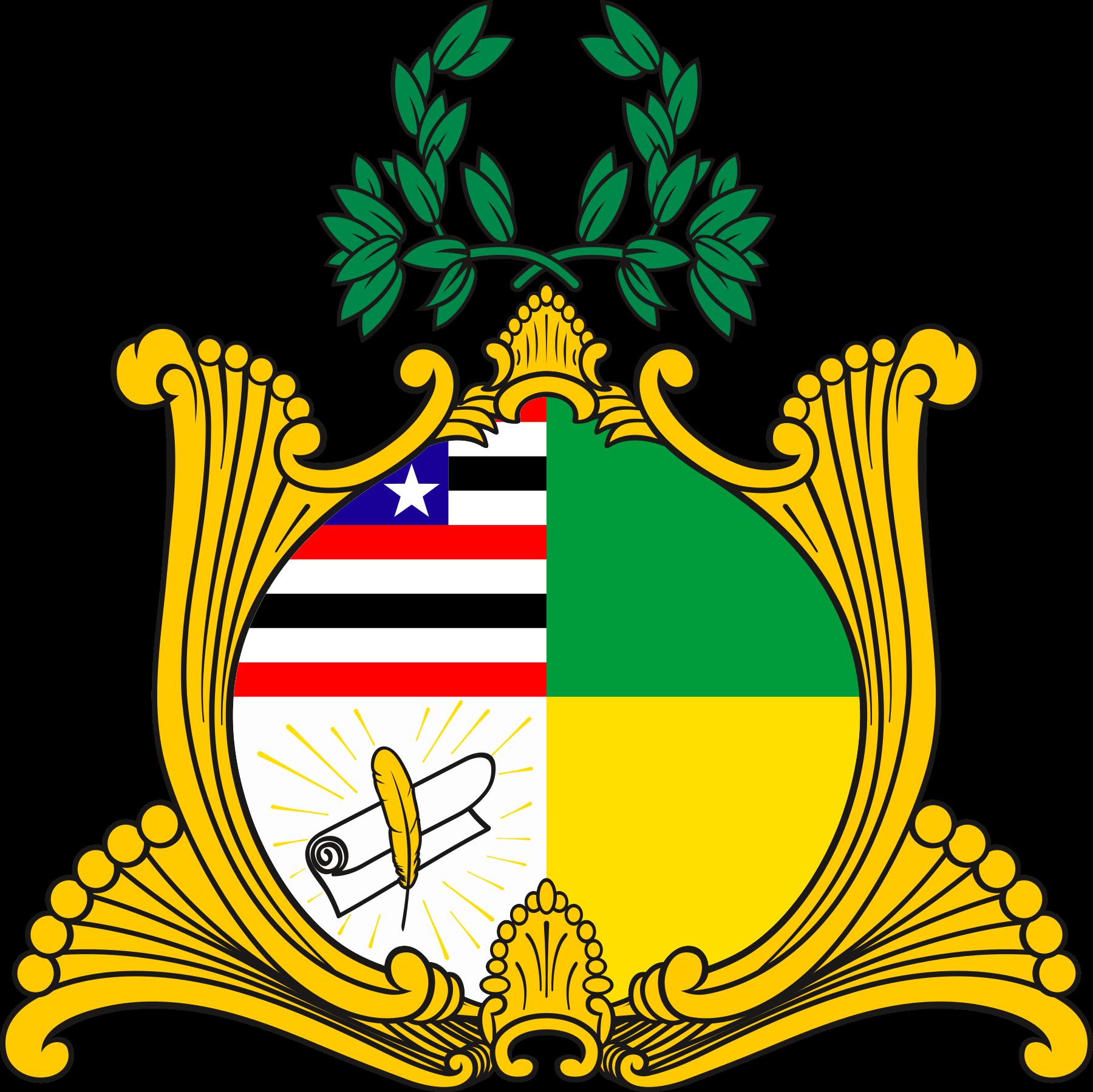 Brasão do Maranhão.